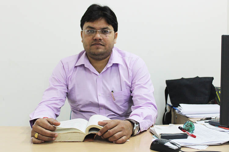 Mr. Pratik Kumar, Assistant Professor