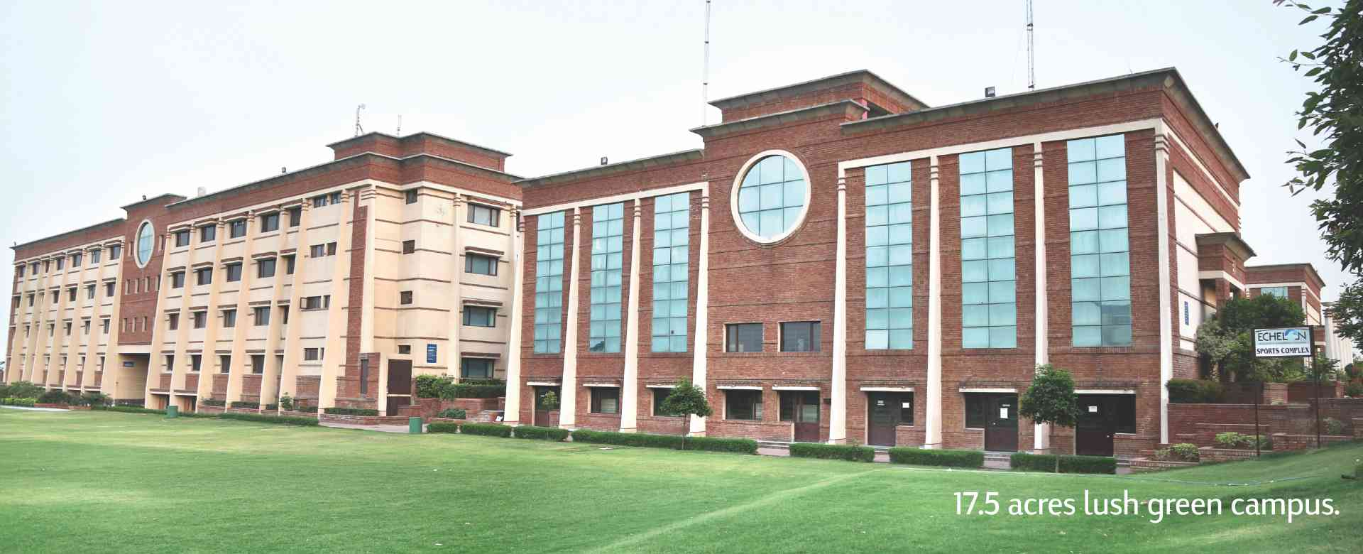 Best infrastructure for B.tech colleges in Faridabad
