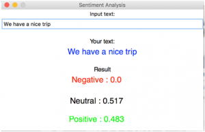 Facebook sentiment analysis
